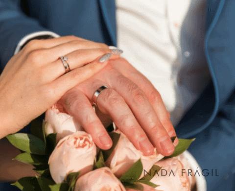 Decoração de unha para noiva