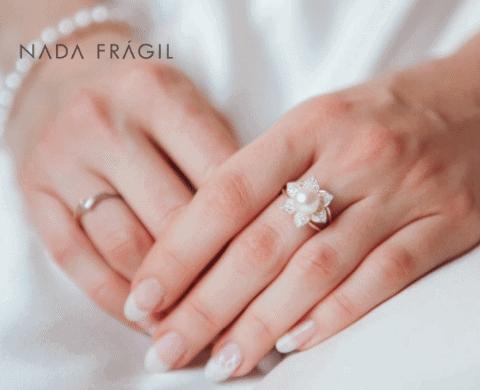 unhas para noivas com francesinha