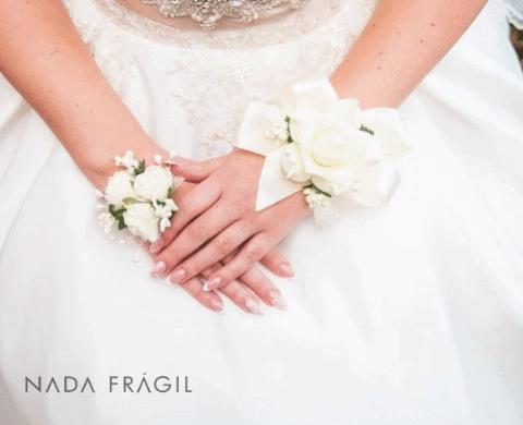 unhas francesinhas para noivas