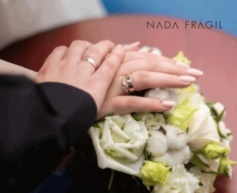 unhas para noivas delicadas