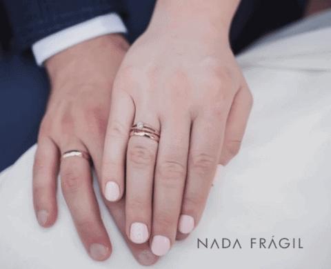 unhas para noivas simples